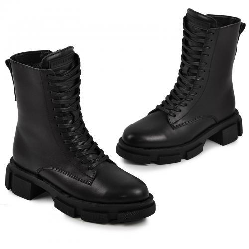 Ботинок 051/23 черная кожа
