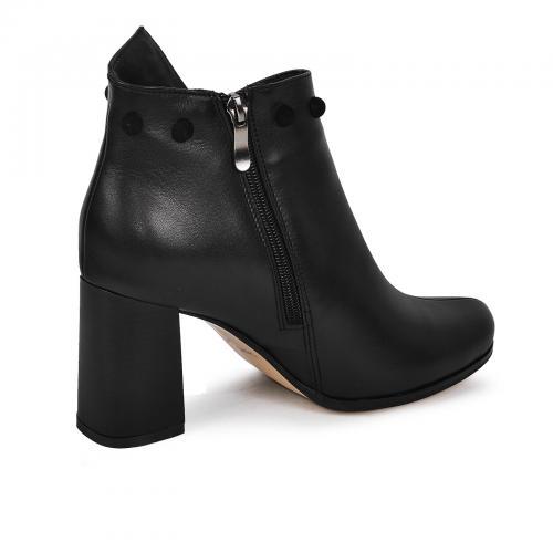 Ботинок Минерва черная кожа