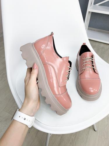 1988 розовый лак кожа