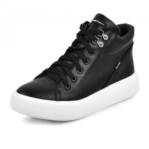 Ботинок Адель 2 черная кожа б п