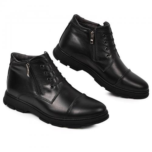 Ботинки 106 черная кожа