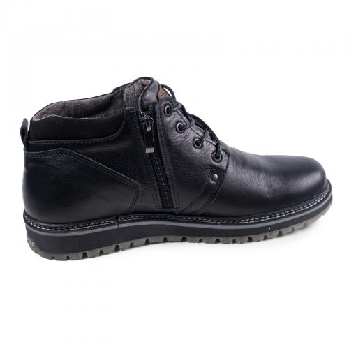 Ботинки 82 черная кожа