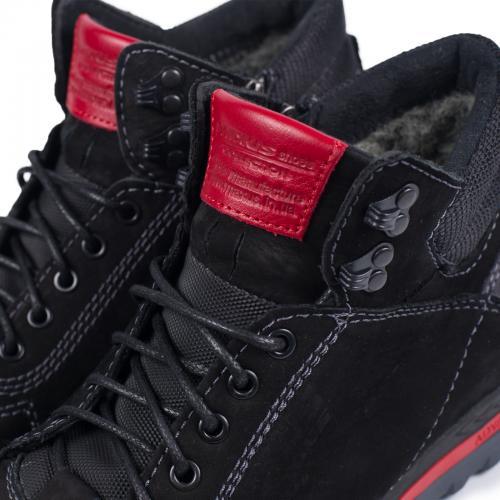 Ботинки ФБ 2 черный нубук