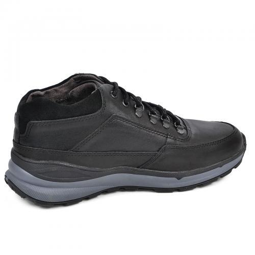 Ботинки МХ черная кожа