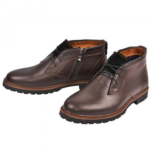 Ботинки Роки каб коричневая кожа