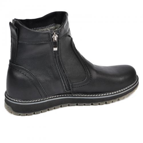 Ботинки С-1 черная кожа