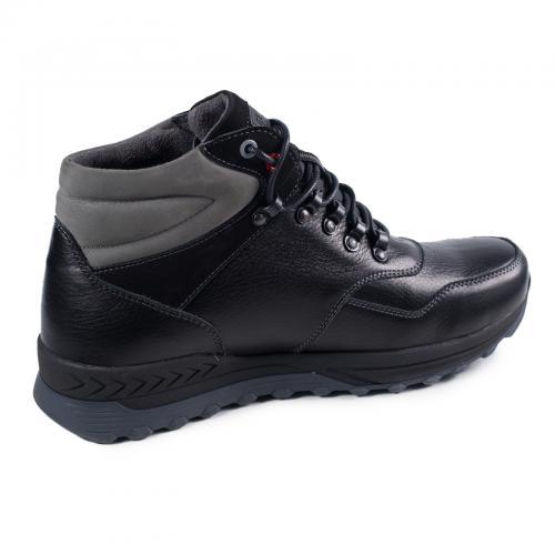 Ботинки Винтер черная кожа