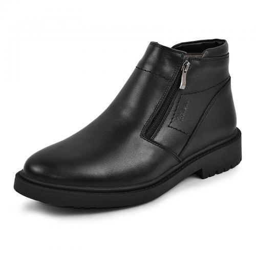 Ботинки 101 черная кожа