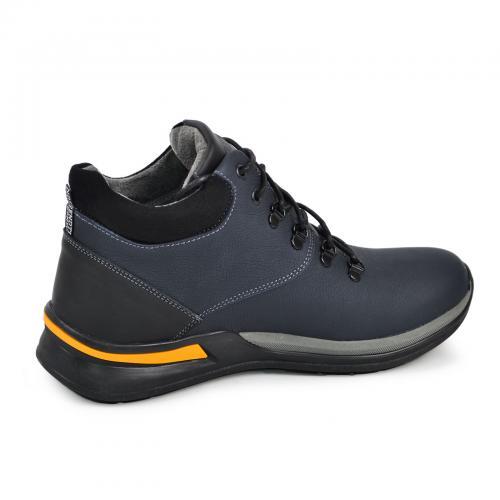 Ботинки Джерси 1 синий мат