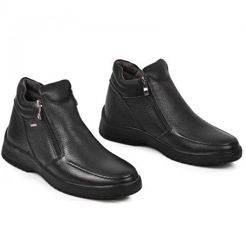 Ботинки Дс черная кожа