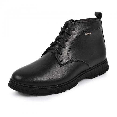 Ботинки Фешон черная кожа