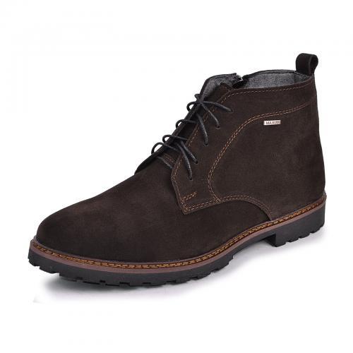 Ботинки Фешон коричневый замш