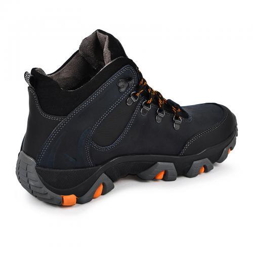 Ботинки Форс синяя кожа