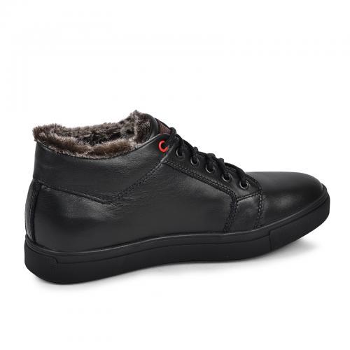 Ботинки Регби черная кожа
