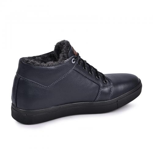 Ботинки Регби синяя кожа