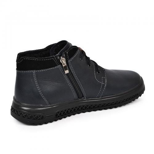 Ботинки РК 31 синяя кожа