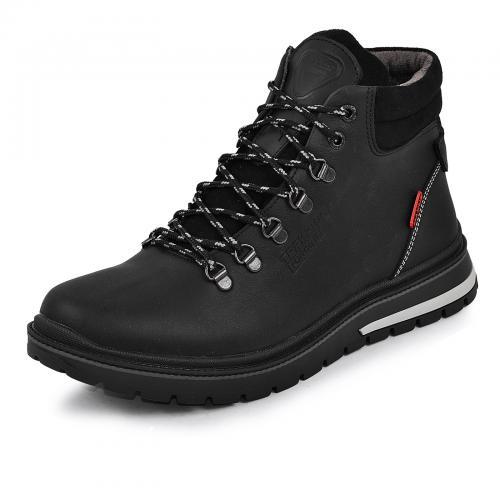 Ботинки Шарк черный тин
