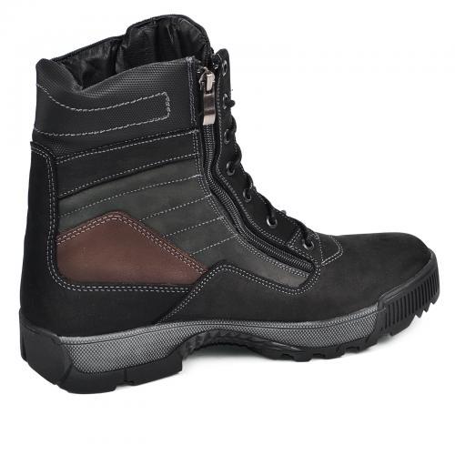 Ботинки Скипер черный мат