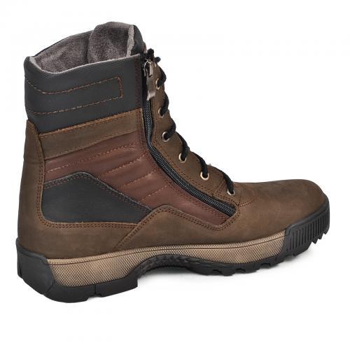 Ботинки Скипер коричневый мат