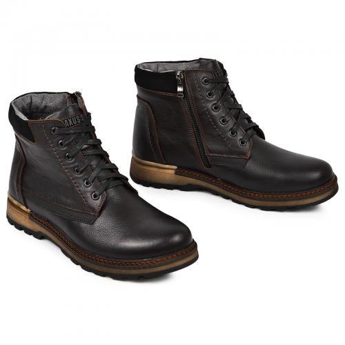 Ботинки Соло 2 коричневая кожа