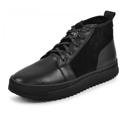 Ботинки ДЖР черная кожа