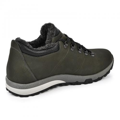 Ботинки Докер зеленый мат