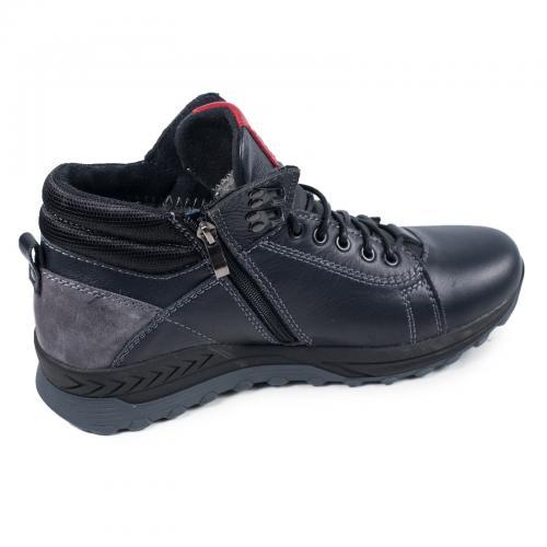 Ботинки ФБ 2 синяя кожа