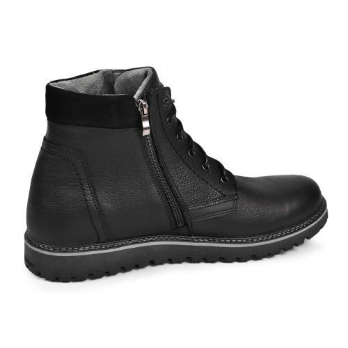 Ботинок Соло 2 черная кожа