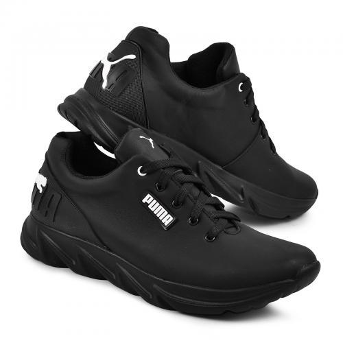 Кроссовки 24 черная кожа