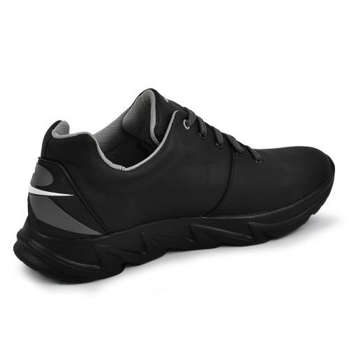 Кроссовки 21 черная кожа