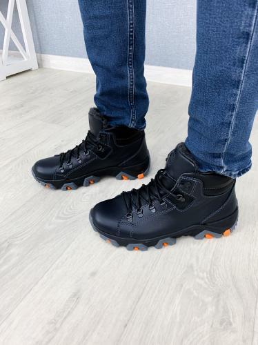 Ботинки Прайм 3 синяя кожа