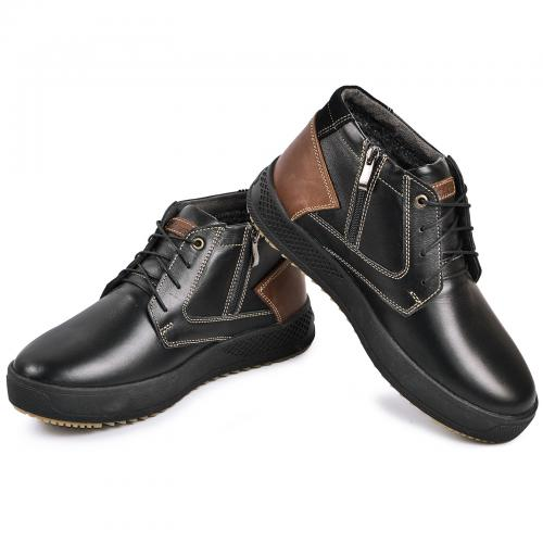 Ботинок Томи 2  Р черная кожа