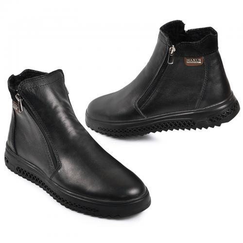 Ботинок РК 33 Р  черная кожа