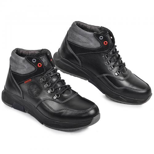 Ботинок Винтер Р черная кожа