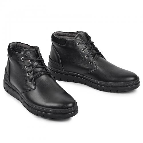 Ботинок Рекс 5 Р черная кожа