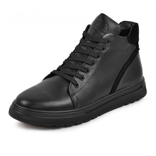 Ботинки 4010 черная кожа