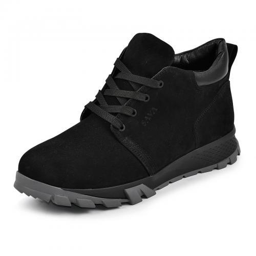 Ботинки 4011 черный нубук