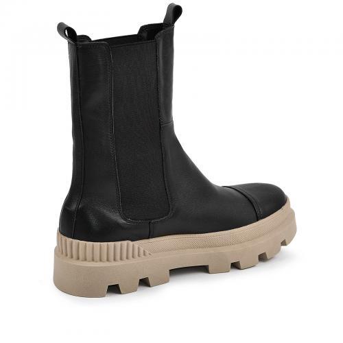 Ботинок Ника Р черная кожа