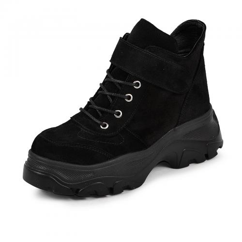 Ботинок 334 черный замш