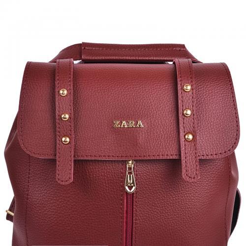 1925 сумка-рюкзак бордо