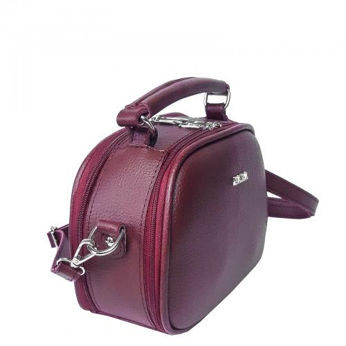 1548 сумка бордо