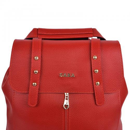 1925 сумка-рюкзак красный