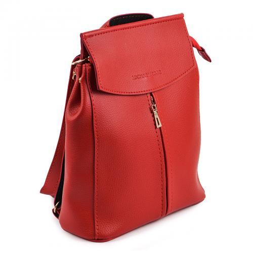1912 сумка-рюкзак красный