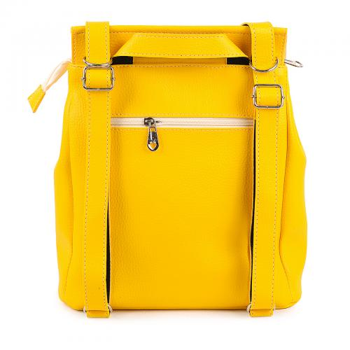 1912 сумка-рюкзак желтый