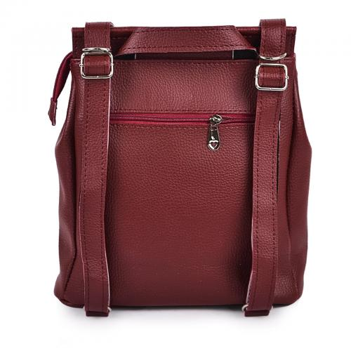 1919 сумка-рюкзак бордо