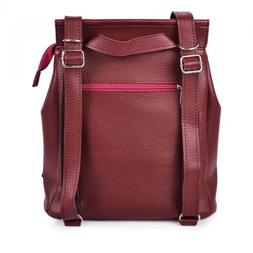 1912 сумка-рюкзак бордо