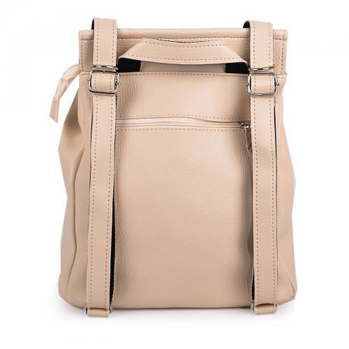 1912 сумка-рюкзак бежевый
