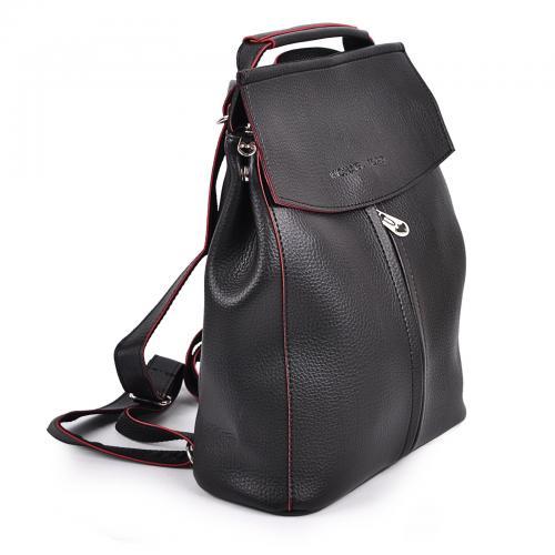 1912 сумка-рюкзак черно/красный