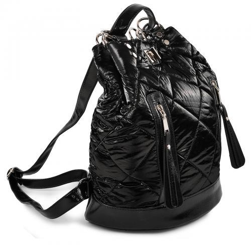 Сумка-рюкзак черный